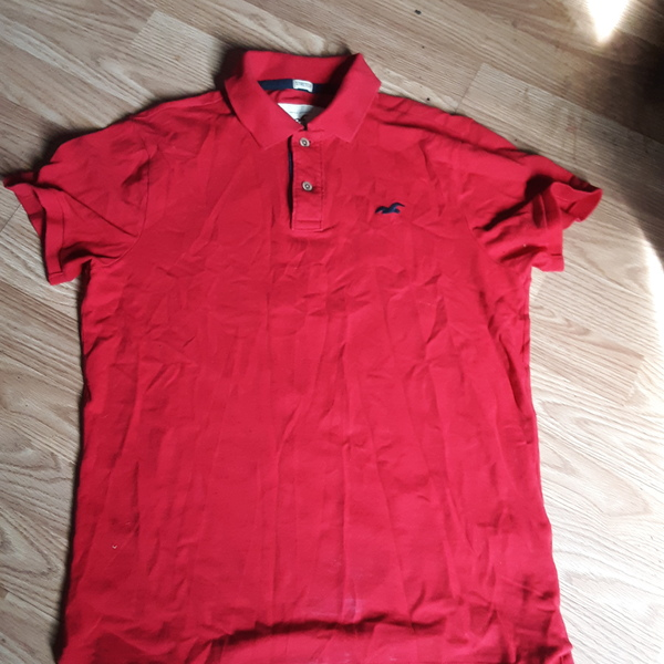 Hollister polo shirt is being swapped online for free