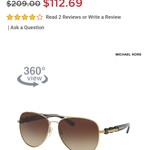 Michael Kors Sunglasses is being swapped online for free