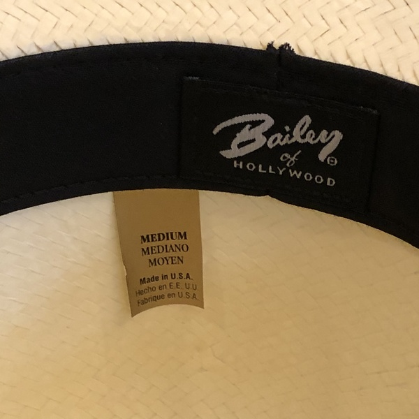 Mens Baily of Hollywood Panama Hat is being swapped online for free