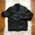 Lucky Brand Leather Jacket  is being swapped online for free