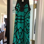 Nicole Miller Turquoise Dress is being swapped online for free