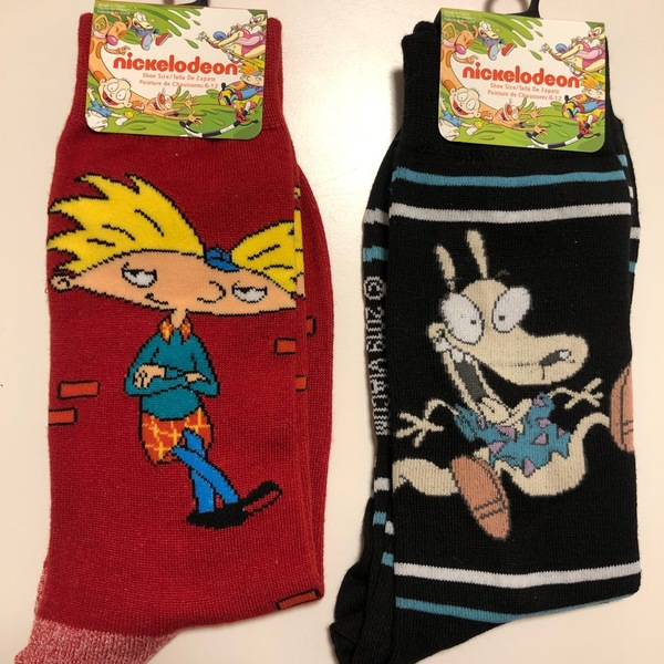 New Nickelodeon Socks  is being swapped online for free