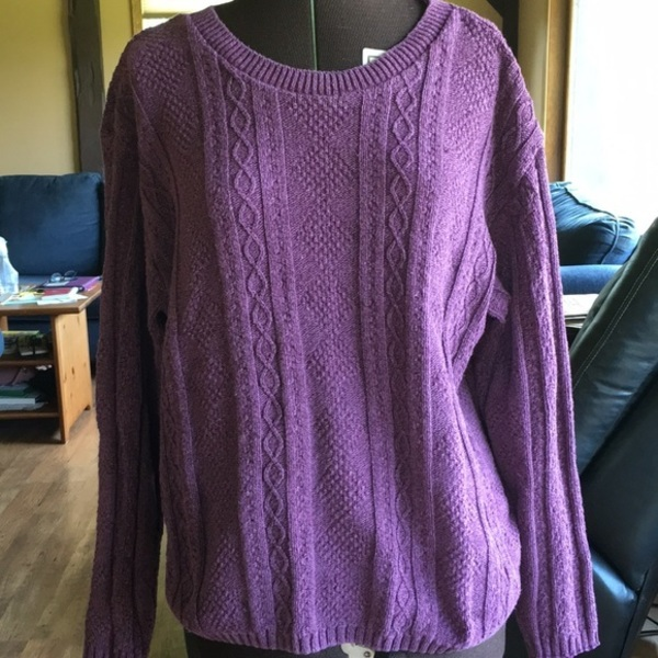Purple Sweater is being swapped online for free