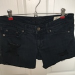 Distressed denim shorts is being swapped online for free