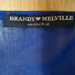 Brandy Melville Back Cut Out Blouse is being swapped online for free