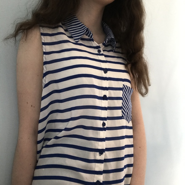 Button Up Blouse from Olivia Moon is being swapped online for free