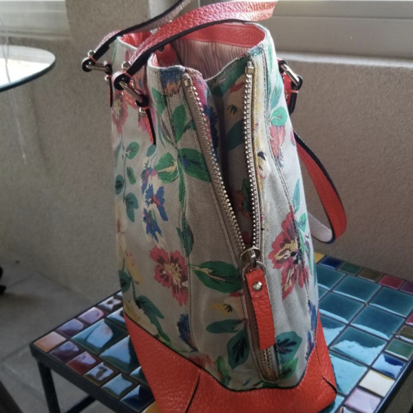 Kate Spade Floral handbag (fabric & leather) is being swapped online for free