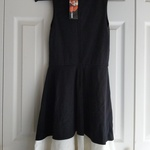 Design Lab Lord and Taylor Black Dress Size S NWT is being swapped online for free