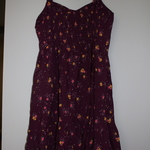 Old Navy Maroon Flower Dress is being swapped online for free