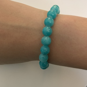 Turquoise Beaded Elastic Bracelet is being swapped online for free