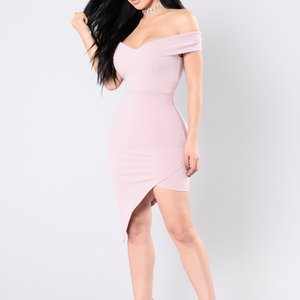 Pink Fashion Nova Dress Large is being swapped online for free