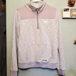 Victoria's Secret PINK Half zip Sz M is being swapped online for free