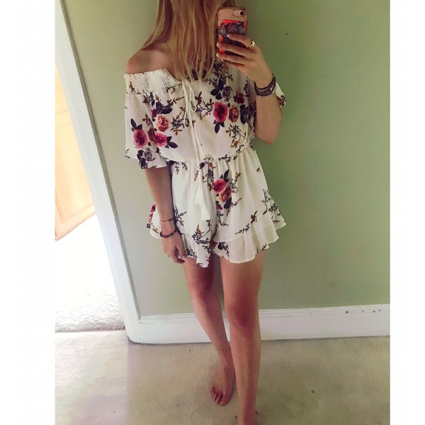 Floral Summer Playsuit  is being swapped online for free