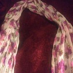 Flower scarf is being swapped online for free