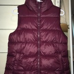 purple old navy vest is being swapped online for free