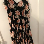 Black floral forever 21 sundress  is being swapped online for free