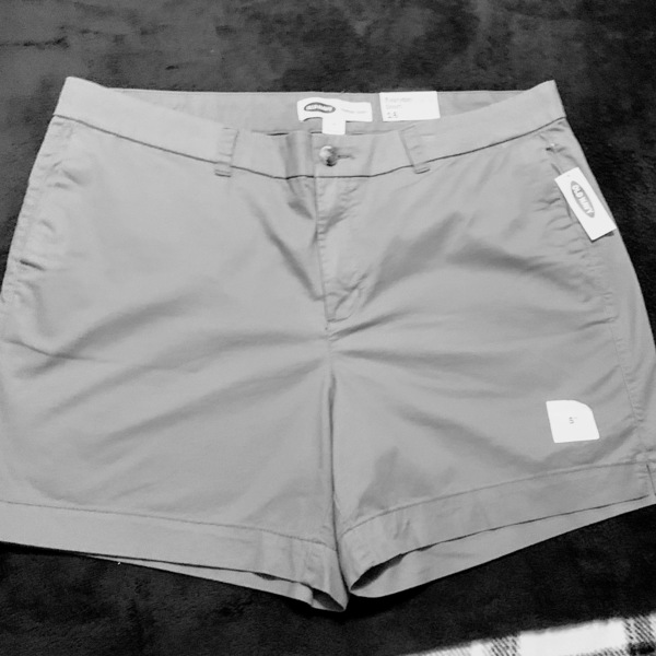 Old Navy Shorts- Size 16 -New is being swapped online for free