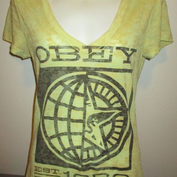 OBEY - Womens Cute t-shirt is being swapped online for free