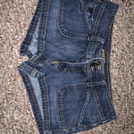 Mossimo Women's size 7 denim shorts is being swapped online for free