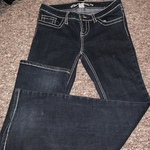 Women's size 9 Long Blue Asphalt Jeans is being swapped online for free