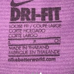Nike Dri-Fit Tank Top in Purple Women's Size Small is being swapped online for free