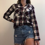 Zara long sleeve flannel Sz S is being swapped online for free