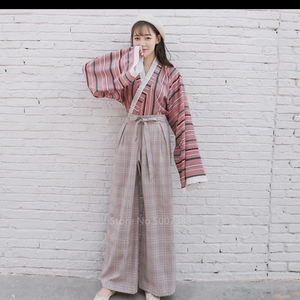 Kimono inspired two piece outfit is being swapped online for free