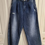 Flying Monkey wide leg jeans NWT is being swapped online for free