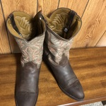 Dark brown Laredo Birchwood round toe boots #68457 is being swapped online for free
