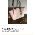 Michael Kors Purse is being swapped online for free