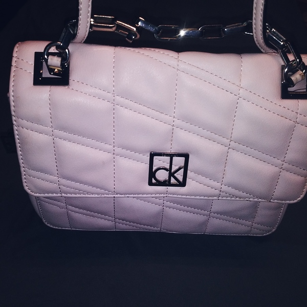 Calvin Klein Kora crossbody Blush Pink RARE is being swapped online for free