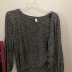 Charcoal Gray Cardigan by Divided size medium is being swapped online for free