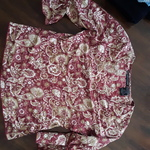 Red Paisley Floral Top is being swapped online for free