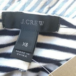 J. Crew Strappy Knit Midi Striped Dress Sz Sx is being swapped online for free