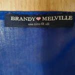 Brandy Melville Long Sleeve Cut Out Back Blouse is being swapped online for free