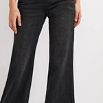 Black highwaisted flare leg jeans is being swapped online for free