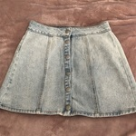 Pacsun Denim Skirt - Light Wash! is being swapped online for free