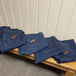 Wrangler jeans for sale is being swapped online for free
