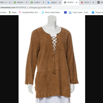 Calypso Leather tunic is being swapped online for free