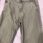 Forest Green button pants, nice and comfortable material! is being swapped online for free