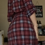 S Plaid Dress (Lily Rose) is being swapped online for free