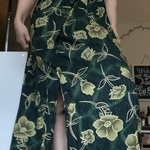 M Vintage Floral Maxi Dress is being swapped online for free
