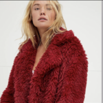 Free people fluffy jacket/coat is being swapped online for free