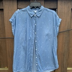 Blue Star Print Top is being swapped online for free