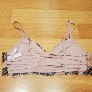 Vs PINK Lace Strappy Bralette Sz L is being swapped online for free