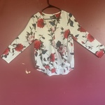 Cute dressy rose blouse  is being swapped online for free