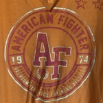 Sexy trendy American fighter shirt  is being swapped online for free