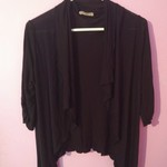 Cha Cha Vente Light Cardigan/shrug Black is being swapped online for free