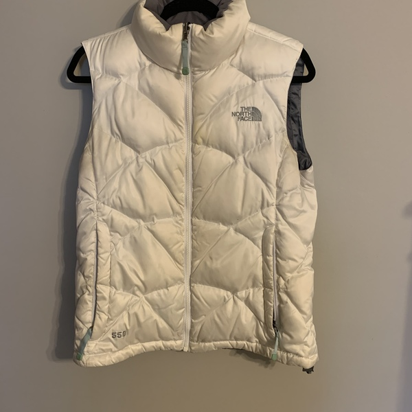 Well loved north face vest is being swapped online for free